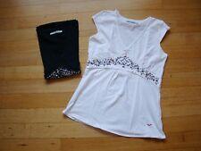 Lot de 2 t-shirts, 1 noir et 1 blanc (taille M)
