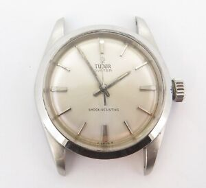 RARE UNPOLISHED '60s Tudor Oyster Small Rose 17J Manual Mens Watch 7934 N/R