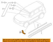 Infiniti NISSAN OEM 14-16 QX80 Exterior-Running Board Step Bracket 961241LA0A