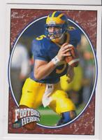 2008 Upper Deck Football Heroes #158 Joe Flacco rookie card, Baltimore Ravens