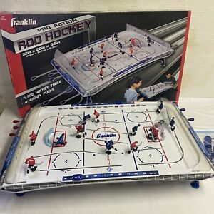 Vintage Franklin THT Rod Table Top Hockey Game Pro Action