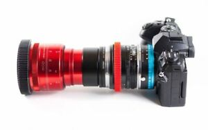 Isco Micro Single Focus 2X Anamorphic Lens Full Kit for DSLR & Cinema Cameras