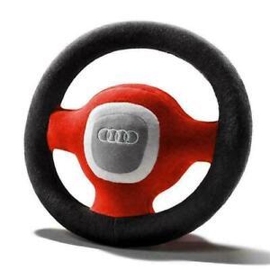 Original Audi Plüschlenkrad Kinder Baby Spielzeug Lenkrad 4L0019102A
