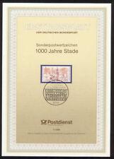 Briefmarken aus Deutschland (ab 1945) mit Sonderstempel für Post, Kommunikation