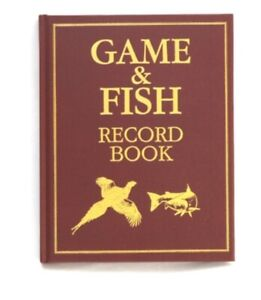 Large Game Register record Illustrated Book shooting journal