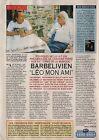 Coupure de presse Clipping 1994 Didier Barbelivien & Léo Ferré (1 page)