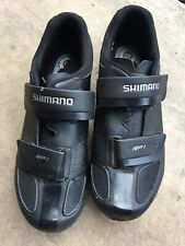 Shimano RP1 (RP100) SPD-SL Road Cycling / Bike / Bicycle Shoes - Black