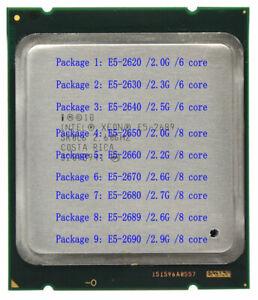 Intel Xeon E5-2620 2630 2640 2650 2660 2670 2680 2689 2690 LGA 2011 Server cpu