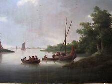 Dutch Old Master Follower Van Os ANTIQUE OIL PAINTING On OAK PANEL Circa 1700
