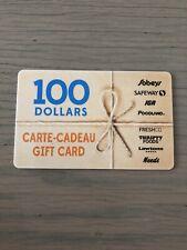 Sobeys $100 Gift Card