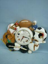 Quartz Sports Wall Clock by Burwood