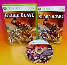 Blood Bowl - XBOX 360 Game - Rare Complete Football with Monsters :) 1-2 Players