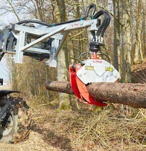 Fliegl hydraulische Verladezange VZ110  Öffnungsw. 1,19m Greiftzange Forstzange