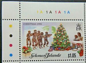 SOLOMON ISLANDS 1995 SG843 $1.05 CHRISTMAS  -  MNH