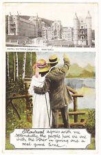 Montreal,Canada ~ Royal Victoria Hospital ~  Antique Postcard