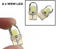W5W / 501 12 Volt LED Wedge Lamp Bright White Car Bulb, Number Plate Side Light