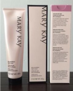 NEW Mary Kay Extra Emollient Night Cream For Dry Skin 2.1 oz  Feet Face And Body