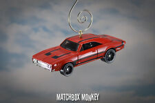 1969 Dodge Charger 500 Custom Christmas Ornament 1/64 Chrome Adorno Muscle R/T