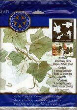 Plaid's Ivy Leaf Stencil Stamp