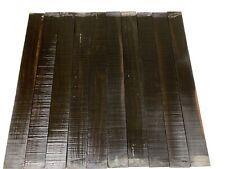 """10 Pack, Gaboon Ebony Fingerboard Blank/Fretboards/Luthier 21""""x2-1/4""""x3/8& #034;, #163"""