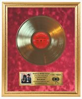 Bob Dylan - Highway 61 Revisited Vinyl Record Framed Beautiful Gold LP Display