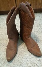 Wet Seal Women's Faux Leather Boots Brown Size 10