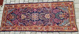 älterer Perser Orient Teppich tappeto, rug carpet  Sarough? 198x92 cm
