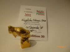 WADE WHIMSIE GOLD KINGFISHER LE 20