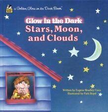 Stars, Moon, Clouds (Golden Glow in the Dark Book)