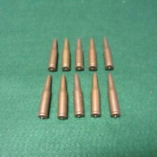 10 Vintage Moulded Plastic Toy Rifle Bullets