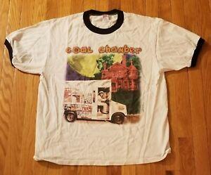 "Men's RARE Hard To Fine XL KORN ""Coal Chamber"" Official Licensed T-Shirt"