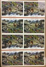 4198 Alpine Tundra, uncut press sheet of 80 41¢ stamps,  2007, $32.80 face