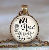 Wild Heart, Gypsy Soul Necklace, Wild Heart Necklace