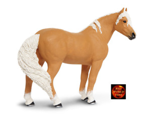 Palomino Mustang Mare Horse Toy Model Figure by Safari Ltd 150505 New