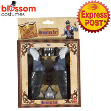 AC404 Western Toy Gun and Holster Wild West Costume Cowboy Gangster Police Cops