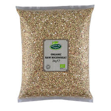 Organic Raw Buckwheat Groats 2kg Certified Organic