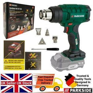 Parkside 20v Cordless Hot Heat Air Gun Bare Unit ONLY - NO BATTERY & CHARGER