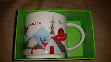 Starbucks Coffee CANADA Mug 14 oz You are Here Collection NEW IN BOX NWT