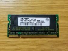 ELPIDA 4GB PC2-6400 SODIMM 200-Pin CL6 LAPTOP MEMORY EBE41UF8ABDA-8G-E TESTED