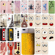 New TPU Custodie Pattern Case Cover For iPhone 5 SE 6 6s 7 Plus Slim Protective