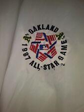 VERY RARE Oakland A's 1987 All Stars Game Nylon Bomber Style Windbreaker/Jacket