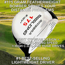 NON-CONFORMING SOOOLONG 175GRAM ULTRALITE ROCKET +25YD GOLF DRIVER HEAD ILLEGAL