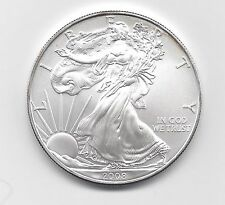 2008 - 1 oz American Silver Eagle Coin - One Troy oz .999 Bullion