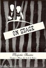 "Diana Barrymore ""PAJAMA TOPS"" Leopold Badia / Kurt Richards 1955 Boston Playbill"