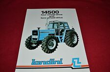 Landini 14500 Four Wheel & Two Wheel Drive Tractor Dealer's Brochure  LCOH