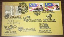 Type 1 9 cancels including Times Square Stamp Week 2013 Malaysia First Day Cover
