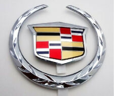"NEW OEM!! Cadillac CTS V 2007 Grille ""WREATH & CREST"" Emblem!!"