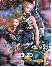 PUBLICITE ADVERTISING   2009   KENZO  mode haute couture
