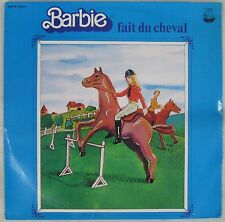 Barbie fait du cheval 33 tours Mattel