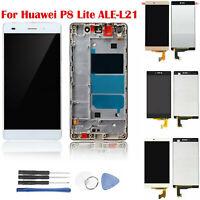 Écran LCD Tactile Screen Numériseur Pour Huawei P8 Lite ALE-L21 Or Blanc Noir